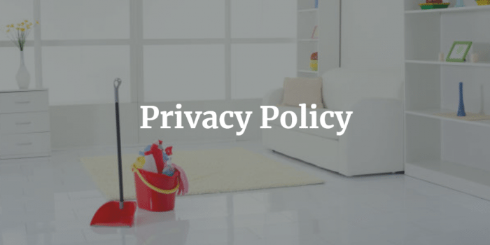 Privacy Policy - 360 Precision Cleaning
